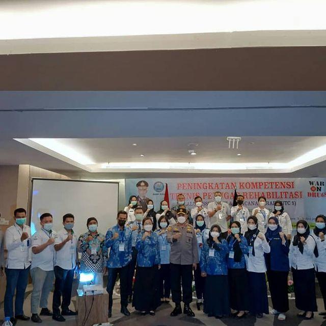 Pondok Rehabilitasi Qhi Mengkuti pelatihan Kompetensi teknis Rehabilitasi Yang ditaja BNNP Riau